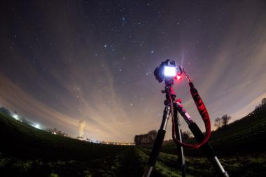 Camera setup for astrophotogprahy