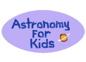 Astronomy for Kids logo