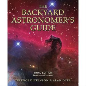 The Backyard Astronomer's Guide by Dickinson and Dyer book cover