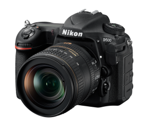 Nikon D500 with 18-50mm lens