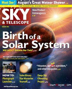 Sky And Telescope magazine issue