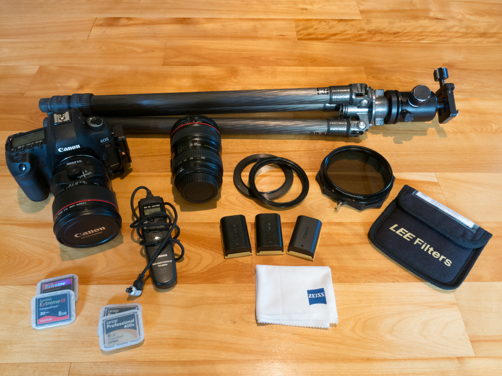 Basic camera gear for backpacking