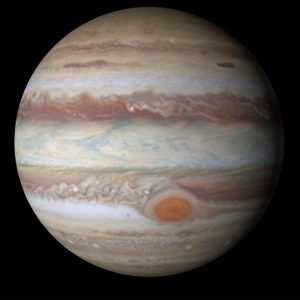 Jupiter, the largest planet in our solar system